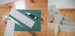 Как сделать перегородки для ящиков своими руками